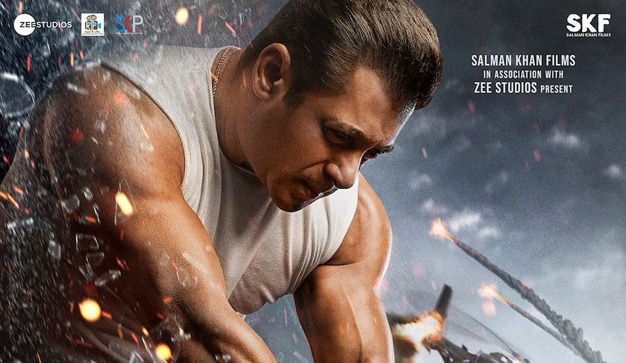 Salman Khan confirmed Radhe will be releasing on Eid by launching new poster of the movie