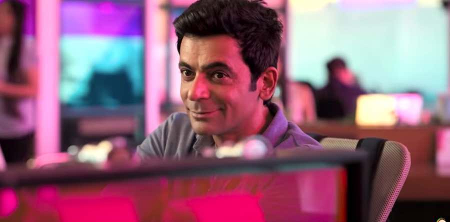 Sunil Grover on its way with a mystery sunflower