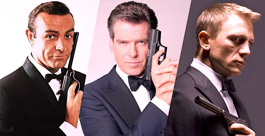 James Bond: Movies list of Agent 007