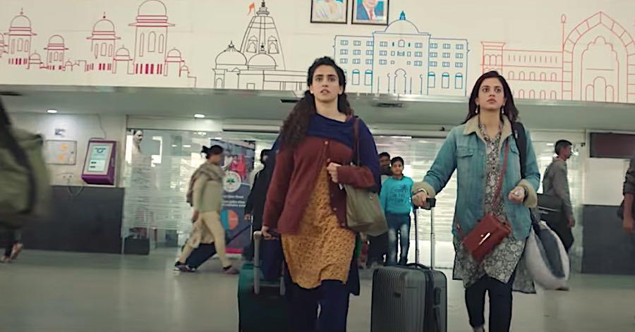Pagglait: A dark comedy movie starring Sanya Malhotra & Raghuvir Yadav